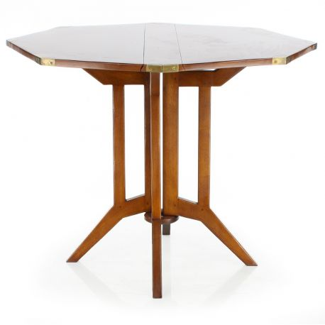 Dining table saulaie for Table pliante