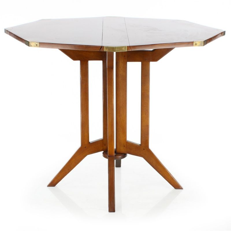 Table pliante en bois officier saulaie for Petite table pliante en bois