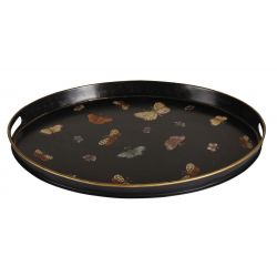 Oval butterfly serving platter, Vatel