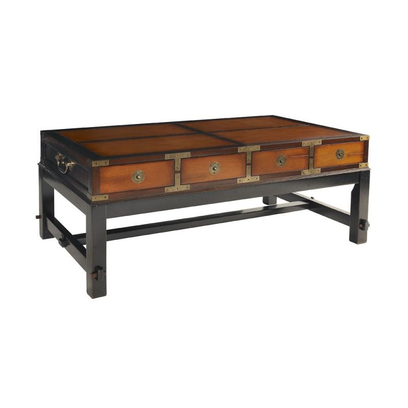 Table basse rectangulaire nelson saulaie - Table basse bois exotique massif ...