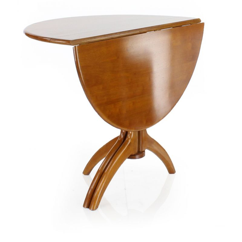 Table de salle manger ronde bois lund saulaie for Table ronde a manger