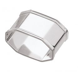 Octagonal serviette ring
