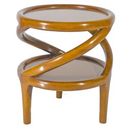 Occasional table saulaie for Table haute scandinave