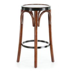 Black bar stool - Nelson