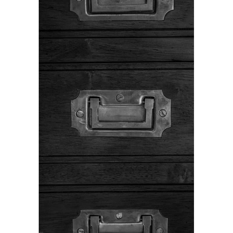 Wooden chest of drawers, small model - Officier