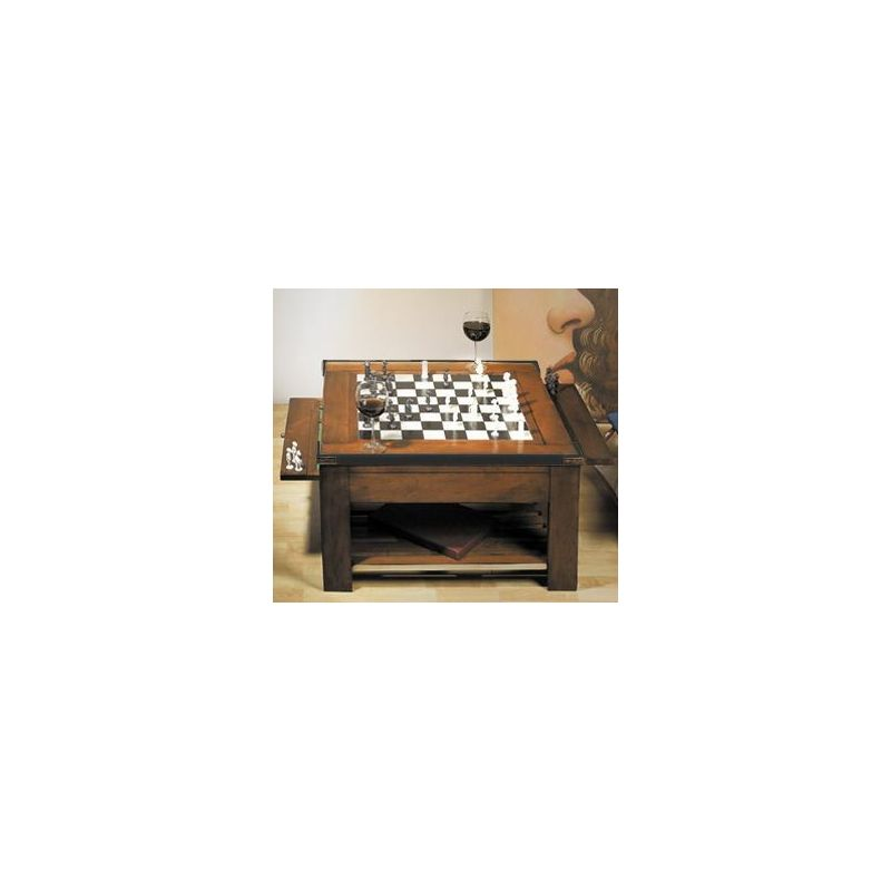Low square gaming table - Hermione