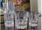 Lead-free crystal Chevreuse glasses