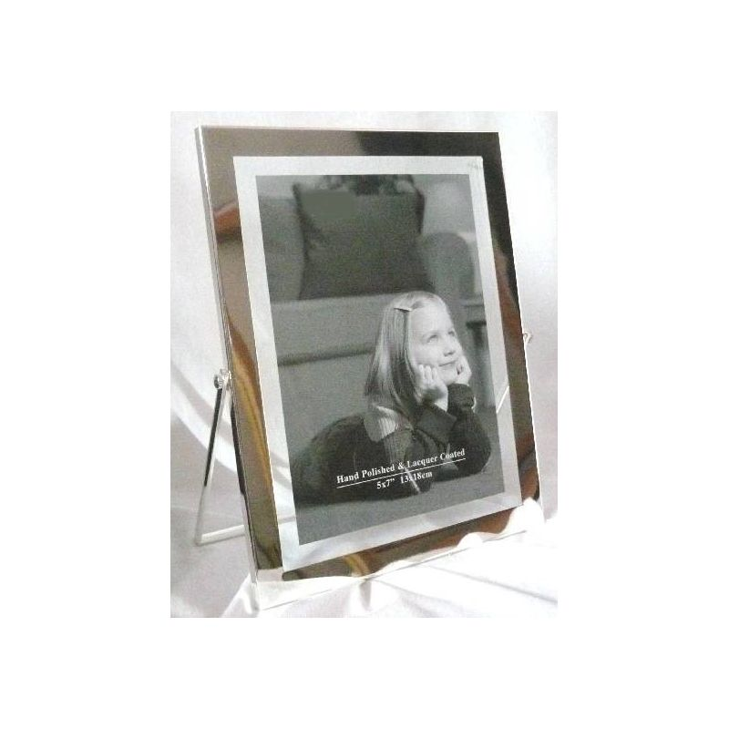 Vertical easel-style photograph frame