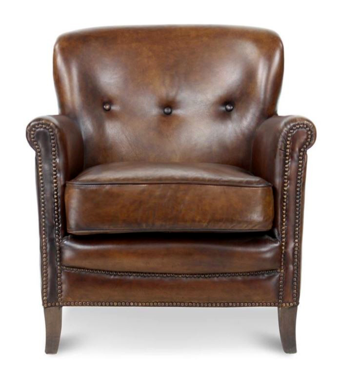 Fauteuil club Middletown - marron vintage