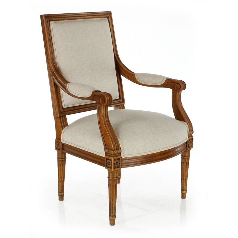 Fauteuil louis xvi trianon saulaie for Garage louis xvi nantes horaires