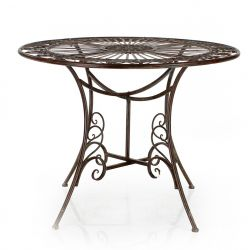 Table de jardin ronde - Jardin
