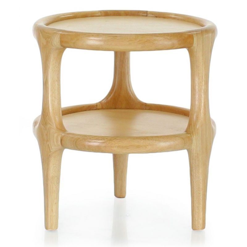 Table d'appoint bois naturel - Lund