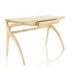 Bureau bois massif naturel design scandinave - Orsay