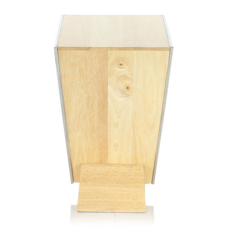 table de chevet design bois naturel delta