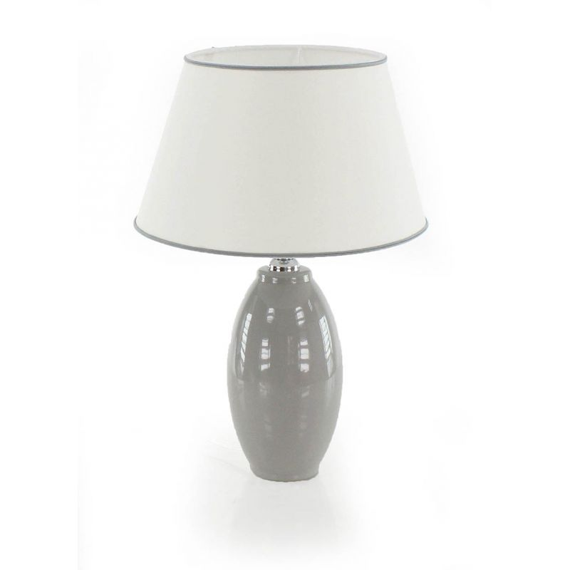Lampe ovale gris Immanence