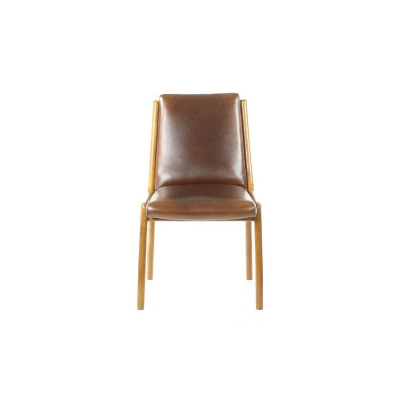 chaise scandinave cuir vintage boden - Chaise Scandinave Cuir