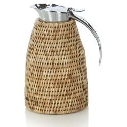 Thermos en rotin naturel, 1 litre - Maudez
