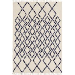 Tapis Hermelin - Diamand Bleu