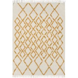 Tapis Hermelin - Diamand Or