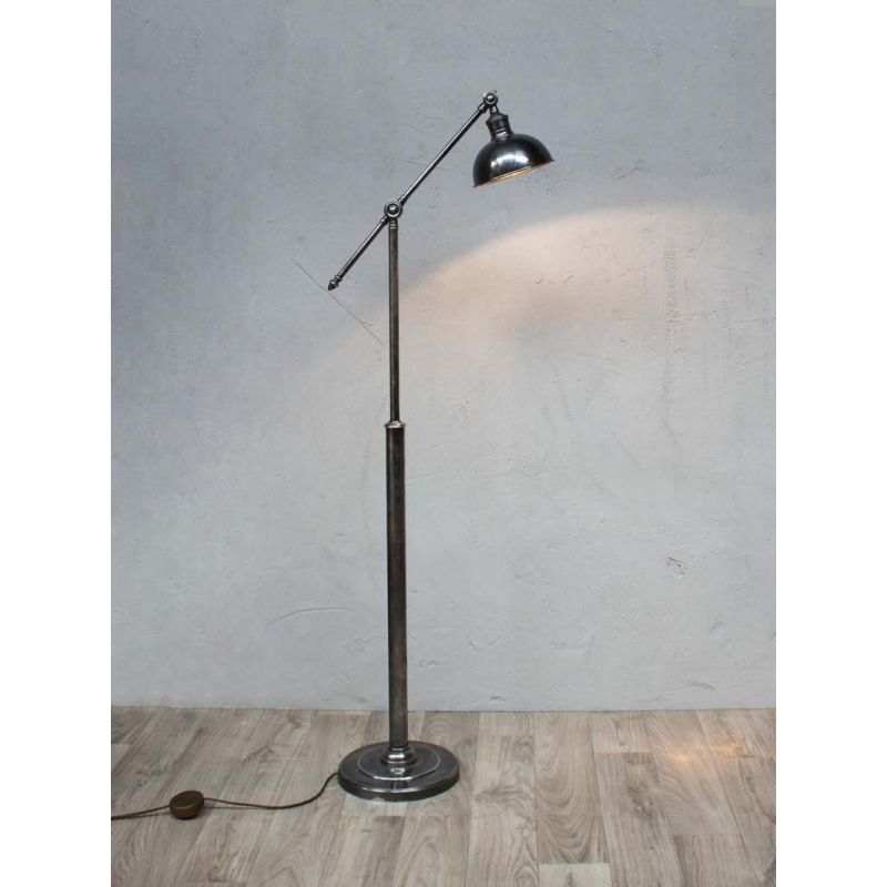 Lampadaire en nickel