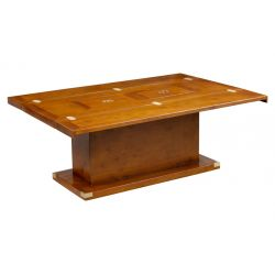 Table basse pliante avec bar - Officier
