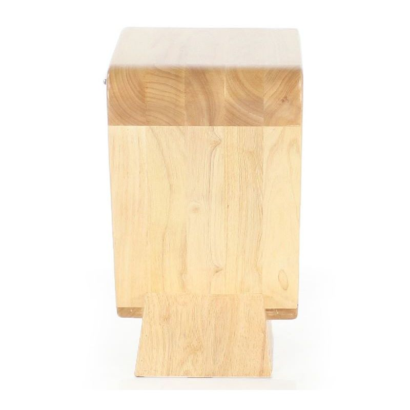 Table de chevet design bois naturel - Icone